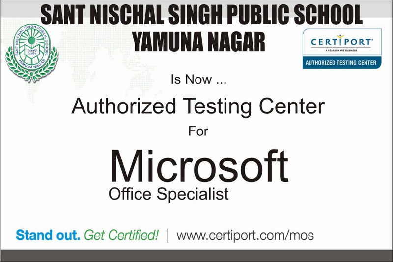 Microsoft Authorized Certification Centre